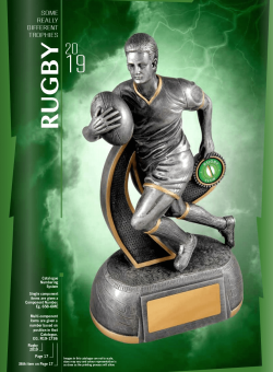 Really Diff Trophies - Rugby 2019
