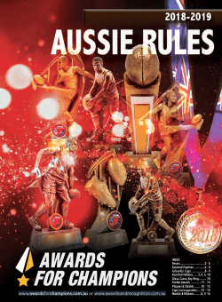 Awards for Champions - AFL 2019