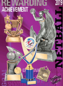 Trophies Galore - Netball 2019