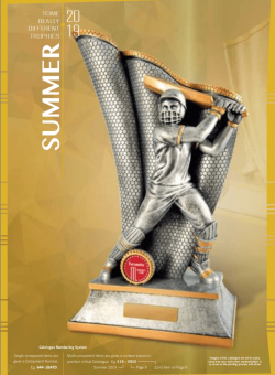 Different Trophies - Summer Sports 2019