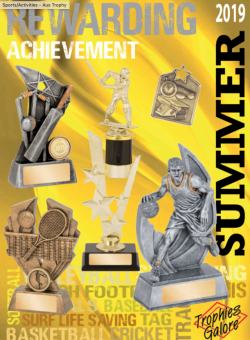 Trophies Galore - Summer Sports 2019