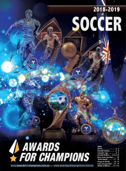 Awards for Champions - Soccer 2019